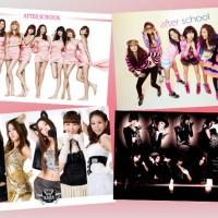 Exclusive Korean Poster (After School / KARA)