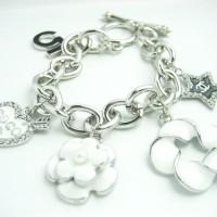 Gelang Cantik Brace Coco CH-01 (Silver)