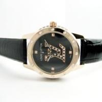 Jam Tangan Wanita Louis Vuitton Confy Leather (Black)