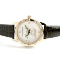Jam Tangan Wanita Louis Vuitton Confy Leather (Brown)