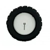 Rubber Wheel (42x19mm)