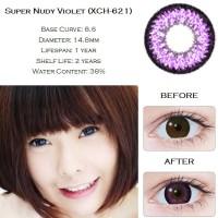 Softlens Geo Super Nudy Violet (Ungu)