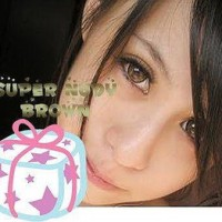 Softlens Geo Super Nudy Brown (Coklat)