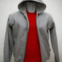 sweater hoodie zipper size : XL