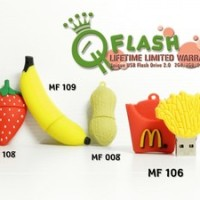Flash Disk Unik Food, Fruit, And Beverages 8 Gb