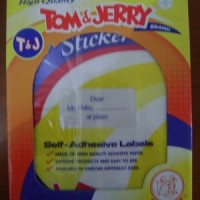 Tom and Jerry Transparent Label paper 103 (Per pack - small pack)