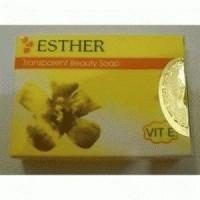 Sabun Cream Esther Transparent Beauty Soap yg murah, yg mahal cek etalase yg lain jgn percaya yg ngaku ori