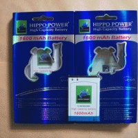 Battery/Baterai Blackberry (BB) Hippo Double Power J-M1 1600mAh (Bellagio)