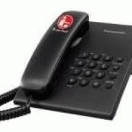Pesawat Telepon (telephone) Panasonic KX-TS505MX Hitam