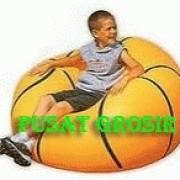 Sofa Angin Motif Bola Basket murah banget