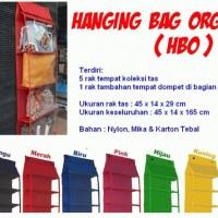 Hanging Bag Organizer (HBO)