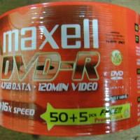 DVD - Maxell - DVD-R 50 PCS Pack (bonus 5 Pcs)