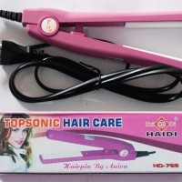 Catok Mini Haidi - Topsonic Hair Care