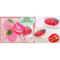 Lunch Box Strawberry Shape