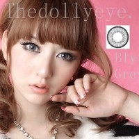 Softlens Blythe Eye / Princess Universe Gray (Abu-abu)