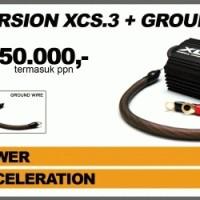 XCS3 (new & original) stabiliser kelistrikan mobil: fuel saver and speed maker