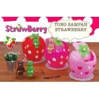 Tong Sampah Strawberry