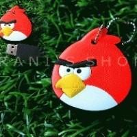 Flashdisk Kartun Angry Bird Merah Gepeng 8GB