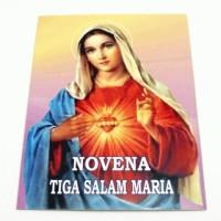 Lembar Doa Novena Tiga Salam Maria