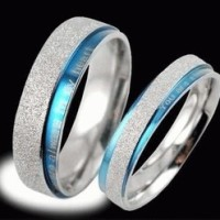 cincin couple stainless steel ( kode: cr008)