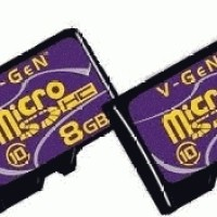 Micro SD - V-Gen - 8GB Class 10