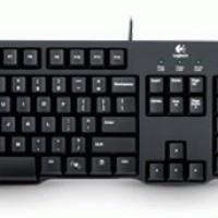 Logitech Paket Keyboard Classic K100 & Mouse Optic USB B100