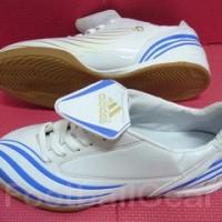 Sepatu Futsal Adidas F10 Sala White Blue