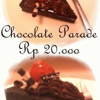 Chocolate parade cake