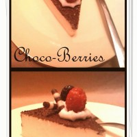 choco-berries cake