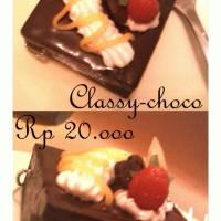 classy choco cake