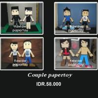 Papertoy Couple