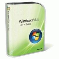 Windows Vista Home Basic SP 1 FPP