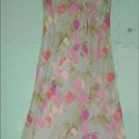 Silk Dress Esprit Hijau