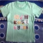t'shirt oshkosh b'gosh green