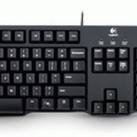 Logitech Keyboard Classic K100 & Mouse Optic USB B100
