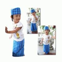 Sarung Praktis Balita Java 1 ( plus peci ) size XL