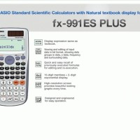 Calculator - Casio - Scientific Calculator FX-991ES Plus