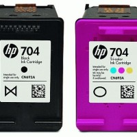 Original Cartridge - HP - HP 704 Colour