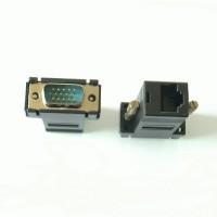 VGA Video Extender via LAN kabel CAT5 CAT6 RJ45 Adapter