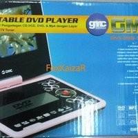 """DVD Portable GMC 7"""" 808M & 808N"""