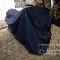Cover/Selimut Motor Koraibi 3 untuk motor sport full fairing (N250, CBR 250, N650, dll)