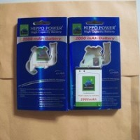 Battery/Baterai Blackberry (BB) Hippo Double Power M-S1 2000mAh (Bold / Onyx)