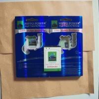Battery/Baterai Blackberry (BB) Hippo Double Power M-S1 2350mAh (Bold / Onyx)