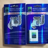 Battery/Baterai Blackberry (BB) Hippo Double Power F-M1 1600mAh (Pearl)