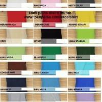 Panduan warna kaos