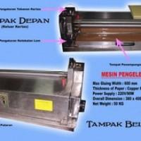 mesin alat lem ( pengeleman ) buku / kertas untuk