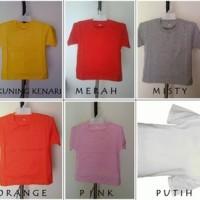 T-Shirt Polos Unisex Anak Size 0
