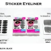 Stiker Mata Hitam Tipis [scott eyeliner/eyelid]