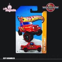 Jeep Scrambler - HW Stunt - Hot Wheels - Mattel - MOC