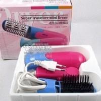 Jual 2 in 1 Mini electric Hair dryer Murah